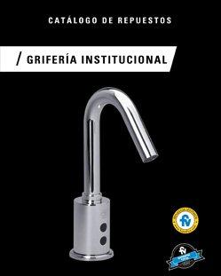 Catálogo Grifería Institucional
